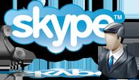 Позвонить через Skype